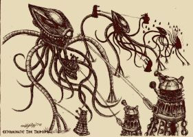 Exterminate the Tripods- 1930s by DalekMercy