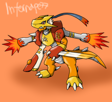 ArdereGreymon by Infernape77