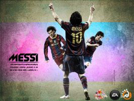 Messi by SalemHector