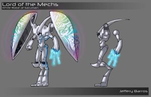 Lord of the Mechs - Other View by redcloud16