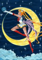 Super Sailor Moon by nephrite-butterfly