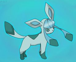 Glaceon by Autumn-Blizzard-Fang