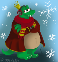 King K. Rool out cold... again by Ribbedebie
