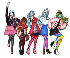 Monster High more real by AkaAmamura20