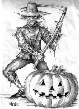 Scarecrow by Culhain