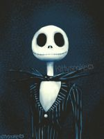 Jack Skellington by kittyysnake