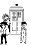 Doctor Who: The Anime INKED by laprasking