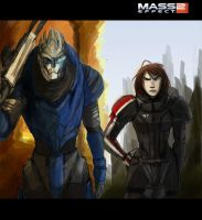 Mass Effect:  Homeworlds by Armesan