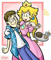 Peach and Andy by yooki42