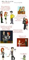 When She Loved Me: Snape+Lily by julvett