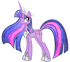 Princess Twilight Sparkle by spock-sickle