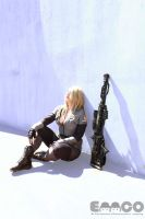 Sniper Wolf cosplay by AlexielDeath10
