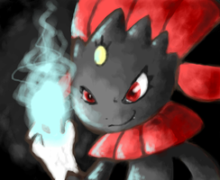 Weavile by KayaaXx