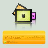 iPad icons by sudhithxavier