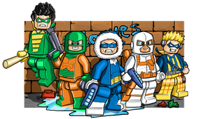 Lego Rogues by Catanas192