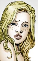 Sophia from Walking Dead Graphic Novel colored by Rini2012