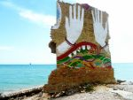 Murales on the sea by Martina31