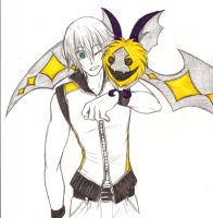 Riku and Komory Bat by artistanything