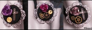 Le temps des roses rings by Gloomyswirl
