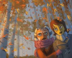 Voice of Autumn by Raikoh-illust