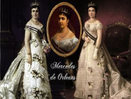 Queen Mercedes of Spain by Nurycat