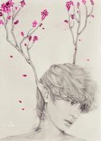Chanyeol fanart - Neverland: Portrait of the Wind by e11ie
