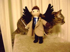Cas And Cat by CrazyFoxMoon
