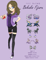 NEW Pokemon Trainer Design by WhatTheFoxBecca