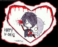 A Bloody Valentines Day by LeCreepyOne