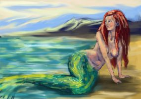 Little mermaid by marchetooo