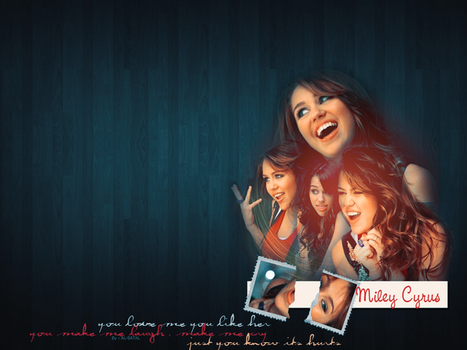 Miley Cyrus Wallpaper by babylovato