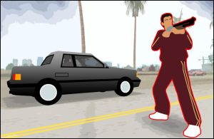 GTA Tommy Vercetti Pissed Off by CCPD