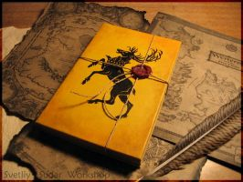 Leather diary Baratheon (Game of Thrones) by Svetliy-Sudar
