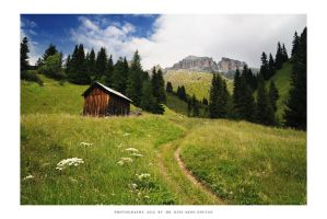 Sella, Dolomites - I by DimensionSeven
