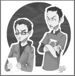 TBBT - roommate agreement by woodooferret