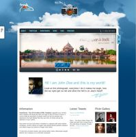 freshCloud - 3D Parallax HTML One Page Template by version-four