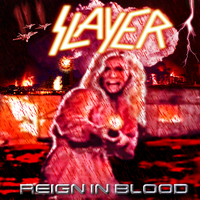 Slayer: Reign in Blood v.2 by MrAngryDog