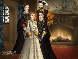 Philip II of Spain and Elizabeth Valois 2 by TFfan234