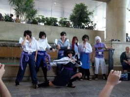 Naruto Gathering (Saturday) Team Taka by TemariAtaje