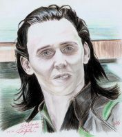 Loki - Tom Hiddleston.2 by SchwarzblutSterne