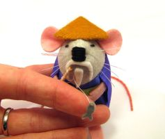 Zen Master Mouse closeup by The-House-of-Mouse