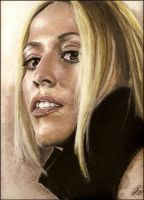 Sheryl Crow - First Pastel by AnythingButDown