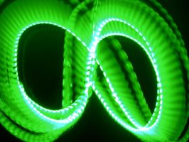 Green Mobius of Light by crotafang