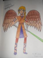 Abigail Windglider: My first SW character design by AbbyCatWolff