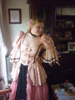 my pink queen dress by my-sweet-madness