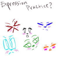Expression Practice by Tigercaramelrecinos