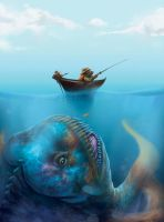 Big fish by RomanBashkatov