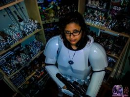 Stormtrooper Chick 2 by MsComicStar86
