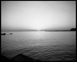 Lake Erie at the Sun 2 by copperrein