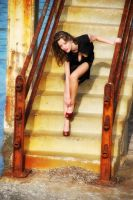 Stairway and Heels by Piddling